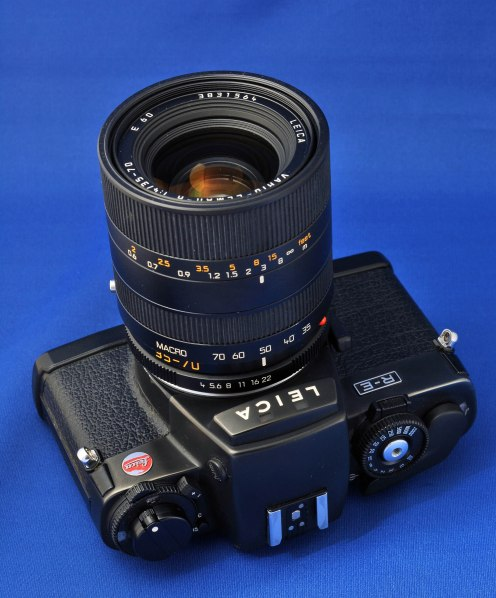 Leica RE with lens